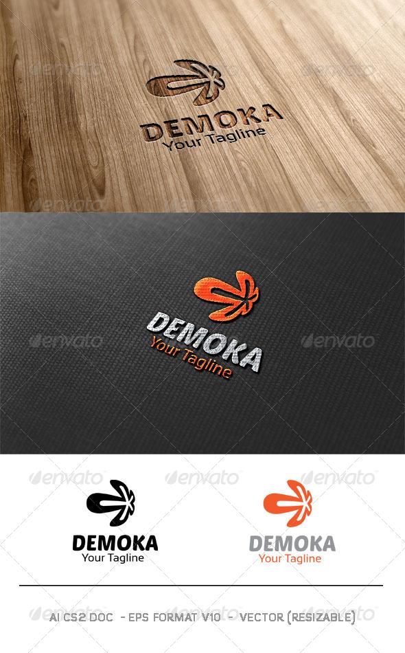 Demoka Logo - Abstract Logo Templates