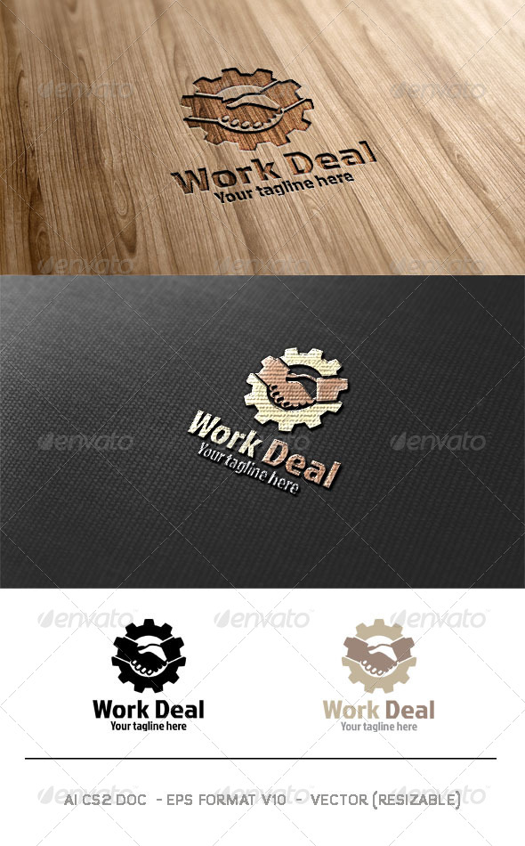 Work Deal Logo  - Symbols Logo Templates