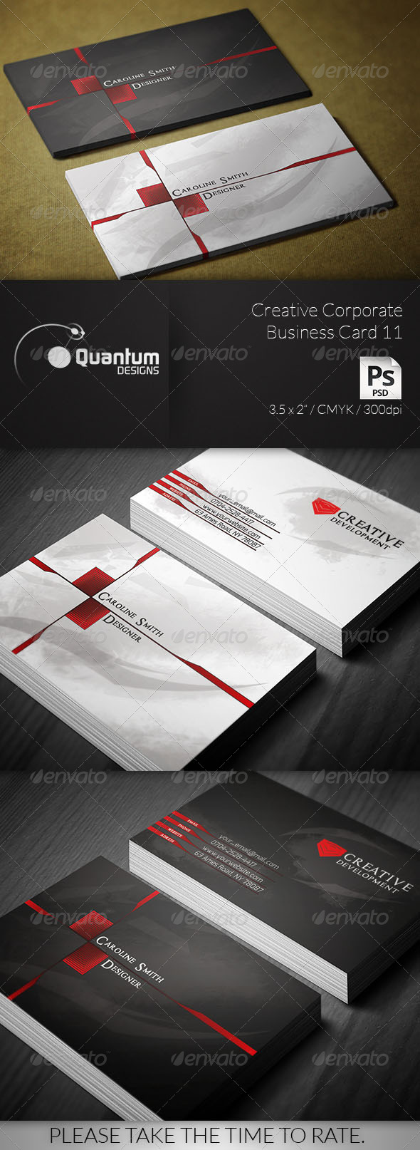 Creative Corporate Business Card 11 - Creative Business Cards