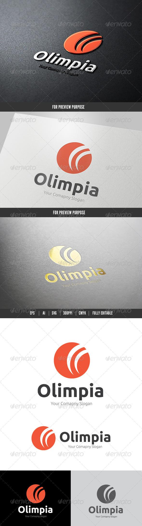 Olympia Logo - Symbols Logo Templates
