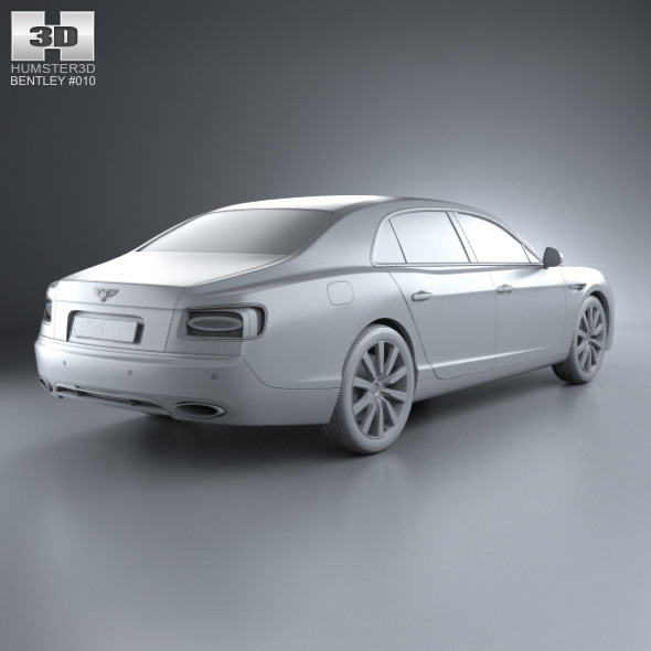 Bentley Flying Spur 2014 By Humster3d