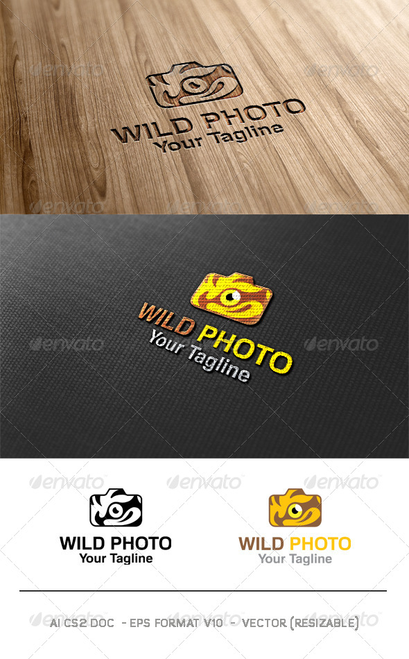 Wild Photo Logo - Symbols Logo Templates