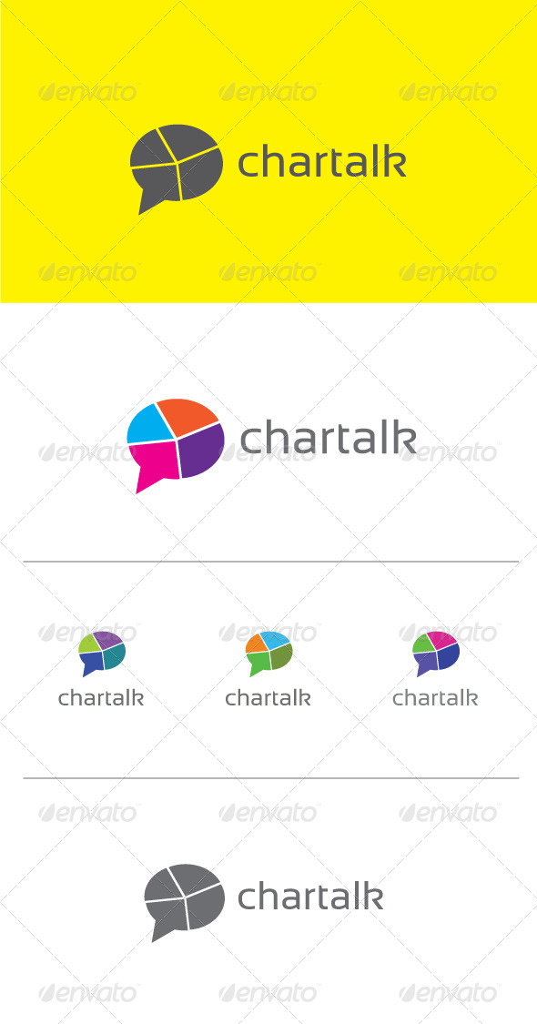 Chartalk Logo Template - Objects Logo Templates