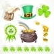 Saint Patrick`s Day Elements Set - GraphicRiver Item for Sale