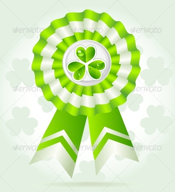 Clover Award on St. Patrick`s Day - Miscellaneous Seasons/Holidays
