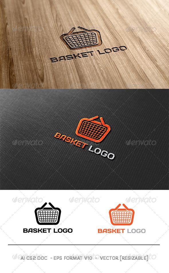 Basket Logo - Objects Logo Templates