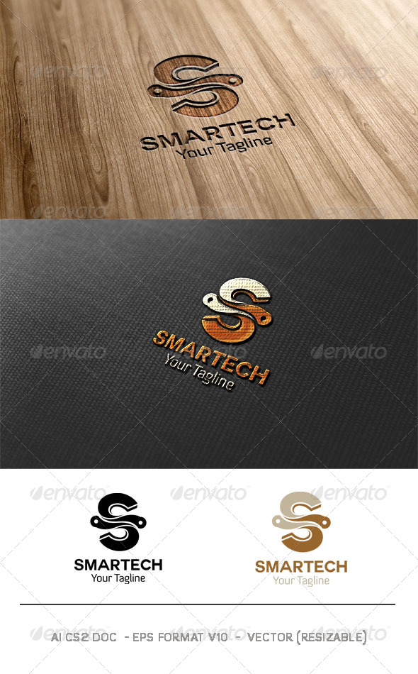 Smart Tech Logo - Symbols Logo Templates