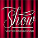 Theatre Show Vector Background - GraphicRiver Item for Sale