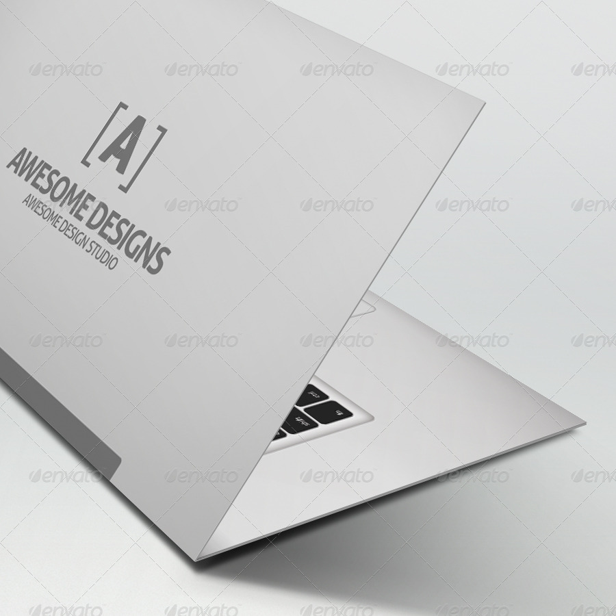 Mybook pro folded business card template by zeppelingraphics mybook pro folded business card template cheaphphosting Images