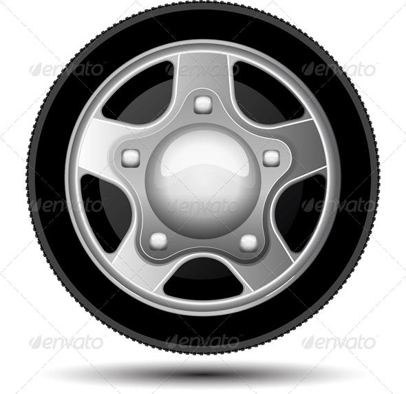 Car Wheel - Sports/Activity Conceptual