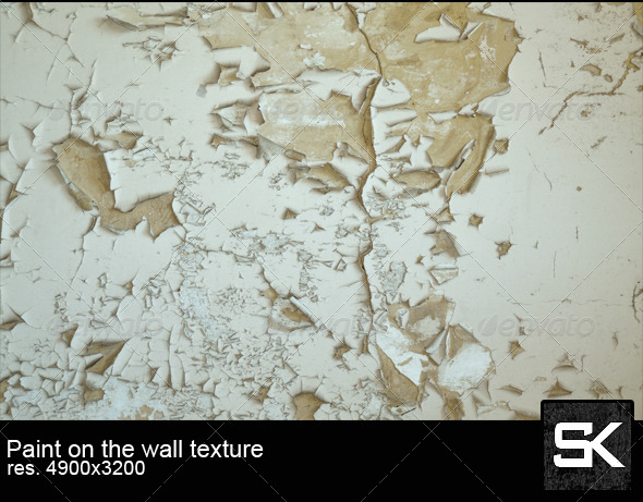 Paint On The Wall - Concrete Textures