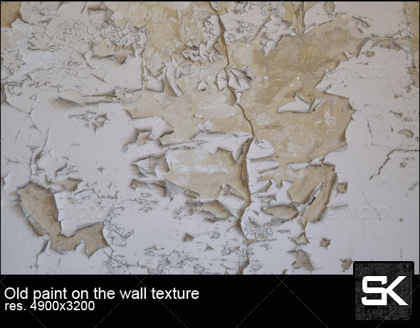 Old Paint On The Wall - Concrete Textures