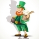 Leprechaun with Beer  - GraphicRiver Item for Sale