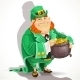 Fat Leprechaun Guards the Pot of Gold - GraphicRiver Item for Sale