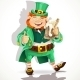 Leprechaun with Pot of Ale - GraphicRiver Item for Sale