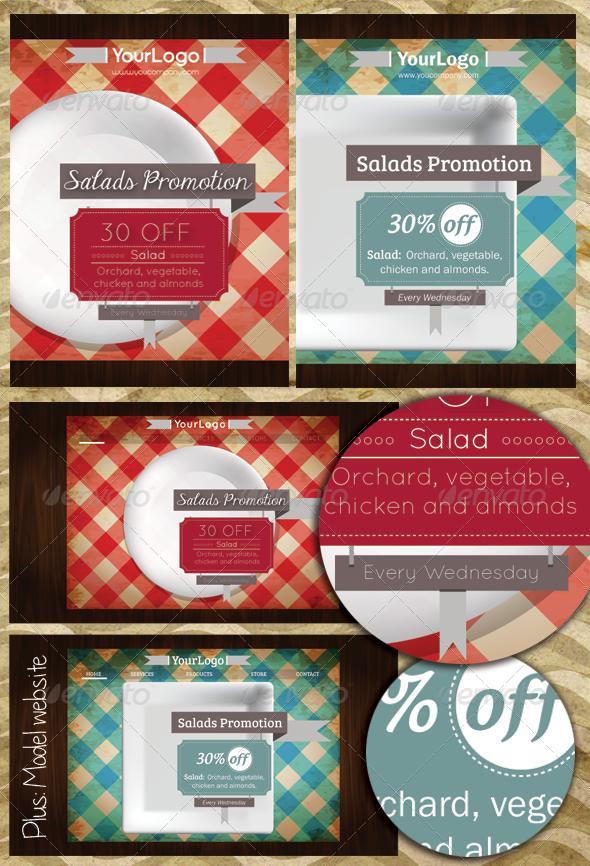 Promotional Flyer for Restaurant