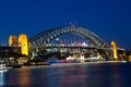 Sydney Harbour Bridge at Dusk - PhotoDune Item for Sale