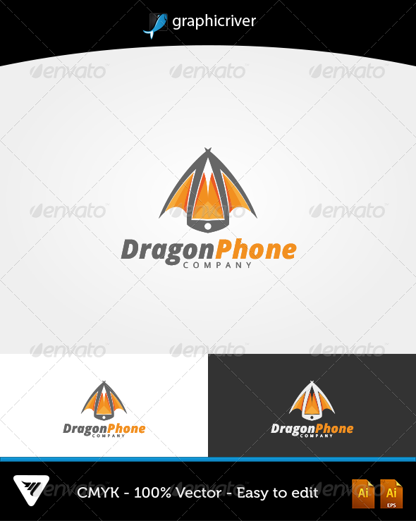 DragonPhone - Logo Templates