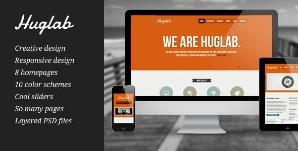 Huglab – Responsive Multi-Purpose Business Site