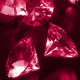 Red Diamonds Falling On The Floor - VideoHive Item for Sale
