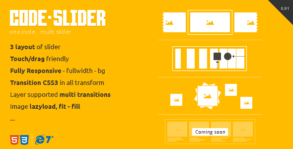 CodeSlider - Touch Responsive Multi Slider - CodeCanyon Item for Sale