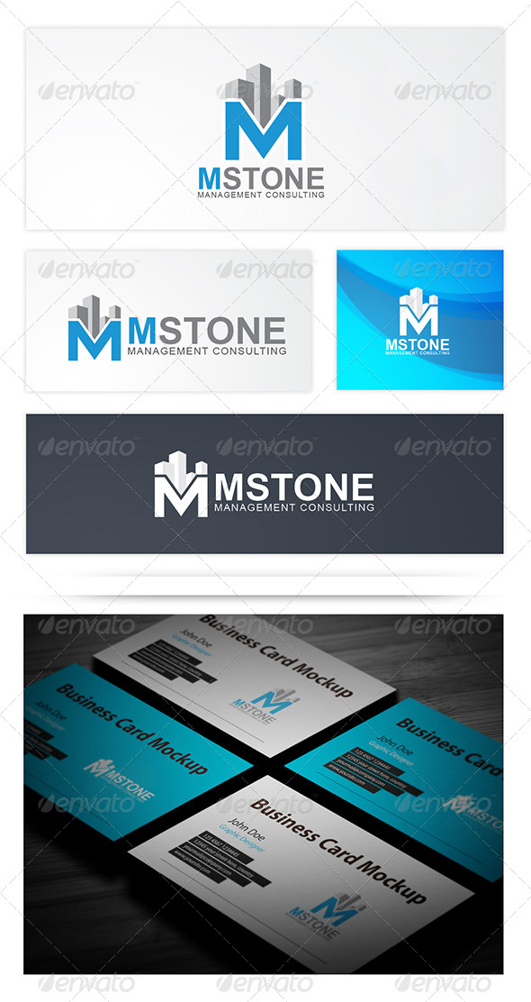 MStone - Letters Logo Templates