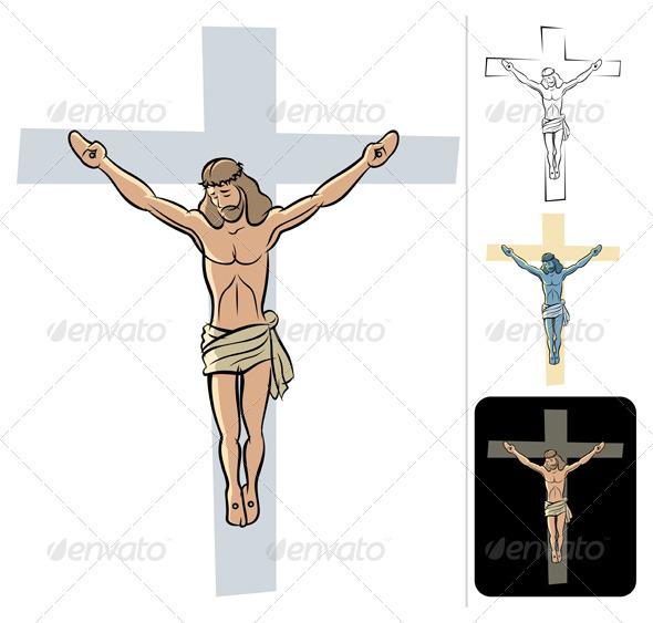 Jesus - Characters Vectors
