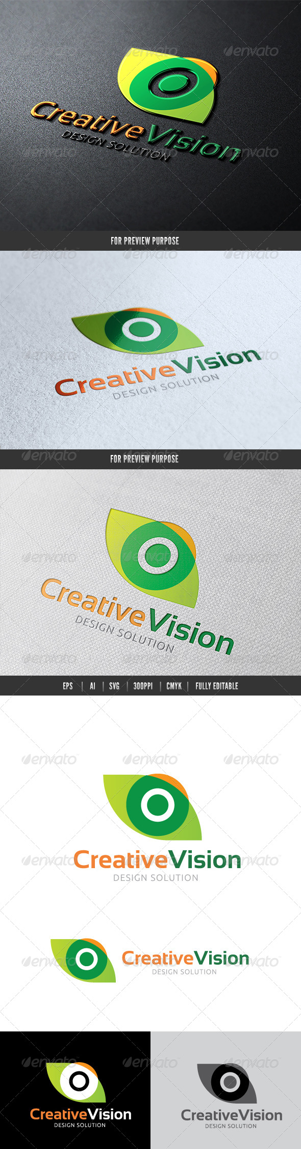 Creative Vision - Humans Logo Templates