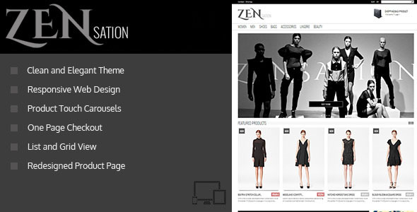ZENsation – Responsive Prestashop 1.6 Theme + BLOG