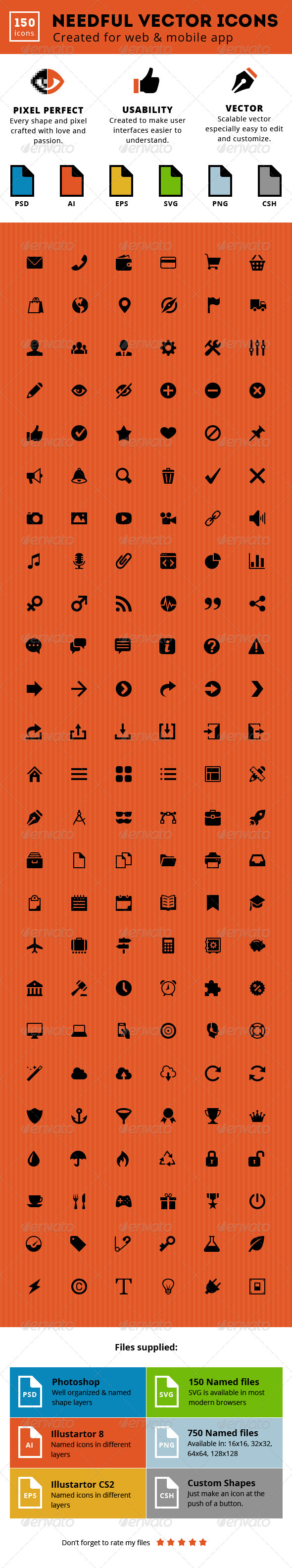 Needful Vector Icons - Miscellaneous Icons