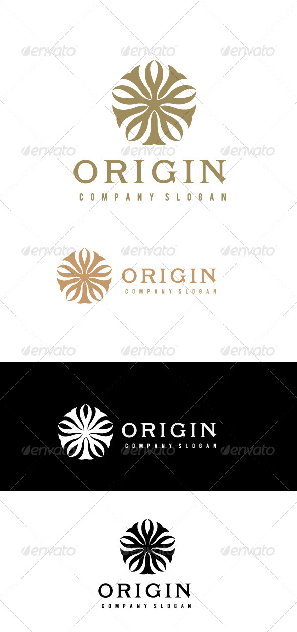 Origin Logo Template - Crests Logo Templates