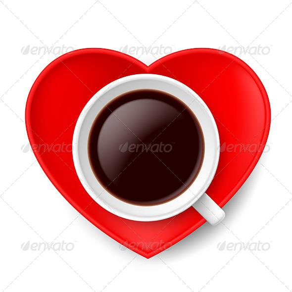 Love of Coffee. - People Characters