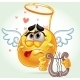 Cheerful Smile in Angel Costume - GraphicRiver Item for Sale