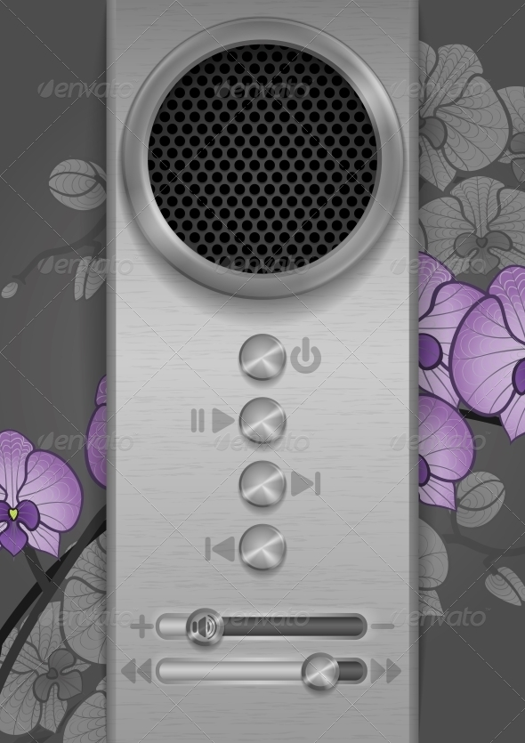 Abstract Speaker Concept Design - Communications Technology