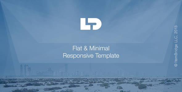 LightDose — Flat&Minimal Responsive HTML Template - Corporate Site Templates
