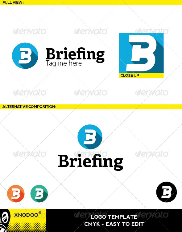 Briefing Logo - Letters Logo Templates