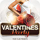Valentine's Day Party Flyer V1 - GraphicRiver Item for Sale