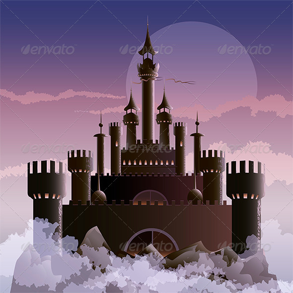 The Dark Castle - Buildings Objects