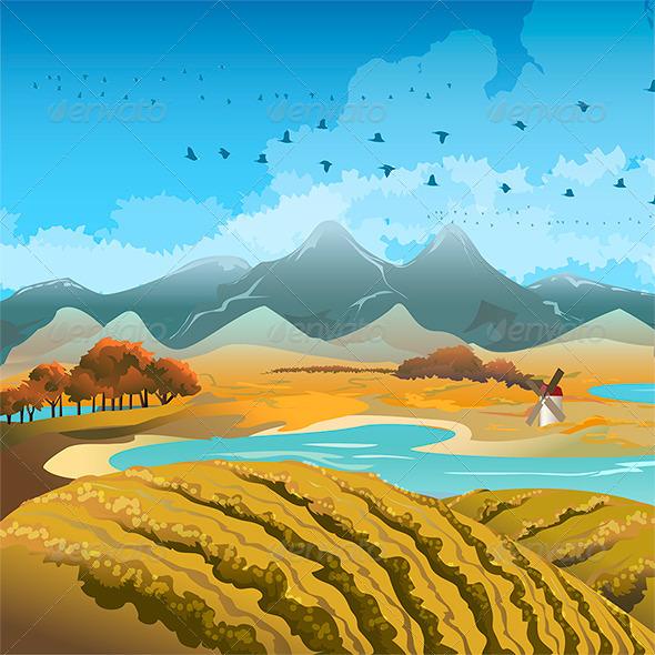 Autumn Landscape - Landscapes Nature