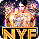 NYE Afterparty A5 Club Flyer Template - GraphicRiver Item for Sale