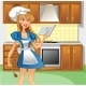 Chef in Kitchen - GraphicRiver Item for Sale