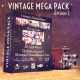 Vintage Mega Pack Episode 1  - VideoHive Item for Sale