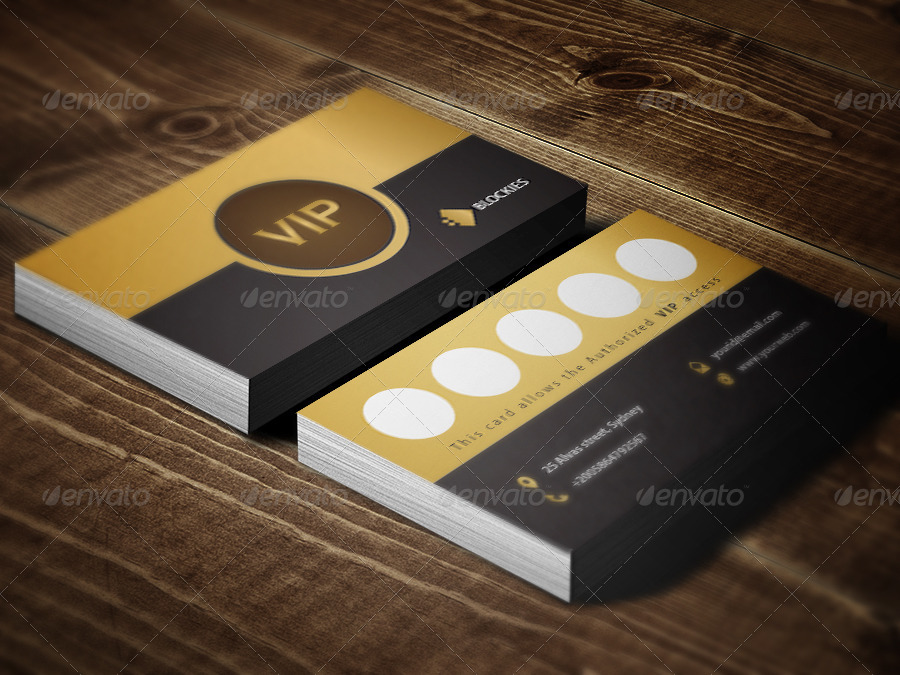 Exclusive Loyalty Card Template By Kazierfan GraphicRiver - Loyalty card template