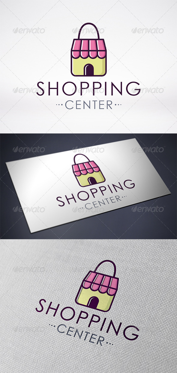 Shopping Center Logo Template - Objects Logo Templates