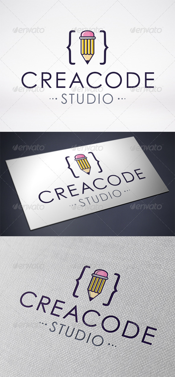 Creative Code Logo Template - Objects Logo Templates