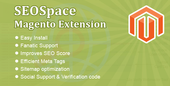 SEOSpace Magento Extension Pro - CodeCanyon Item for Sale