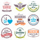 Retro Vintage Badges and Labels - GraphicRiver Item for Sale
