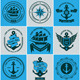 Vintage Retro Nautical Badges and Labels - GraphicRiver Item for Sale