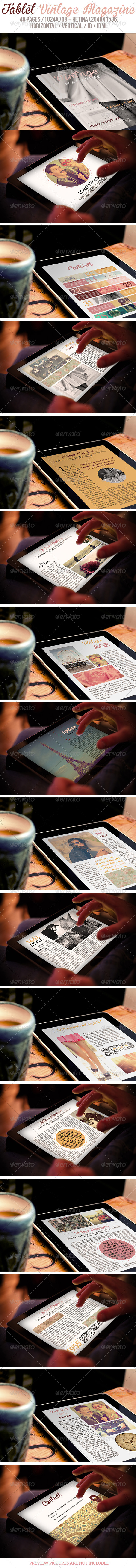 iPad & Tablet Vintage Magazine - Digital Magazines ePublishing