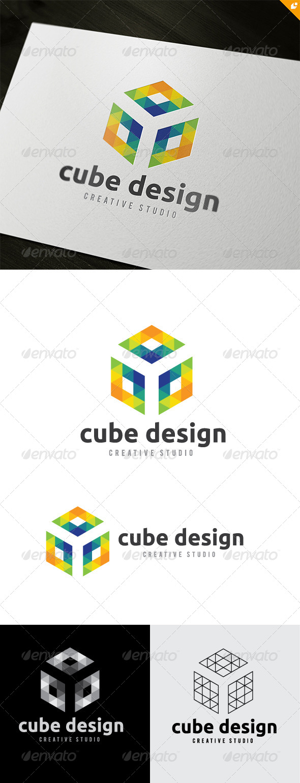 Cube Design - Objects Logo Templates